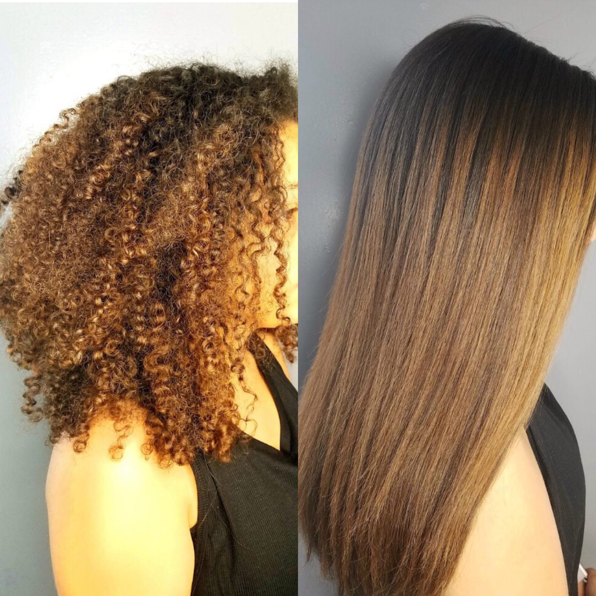 Before and After a Thermal Silkening
