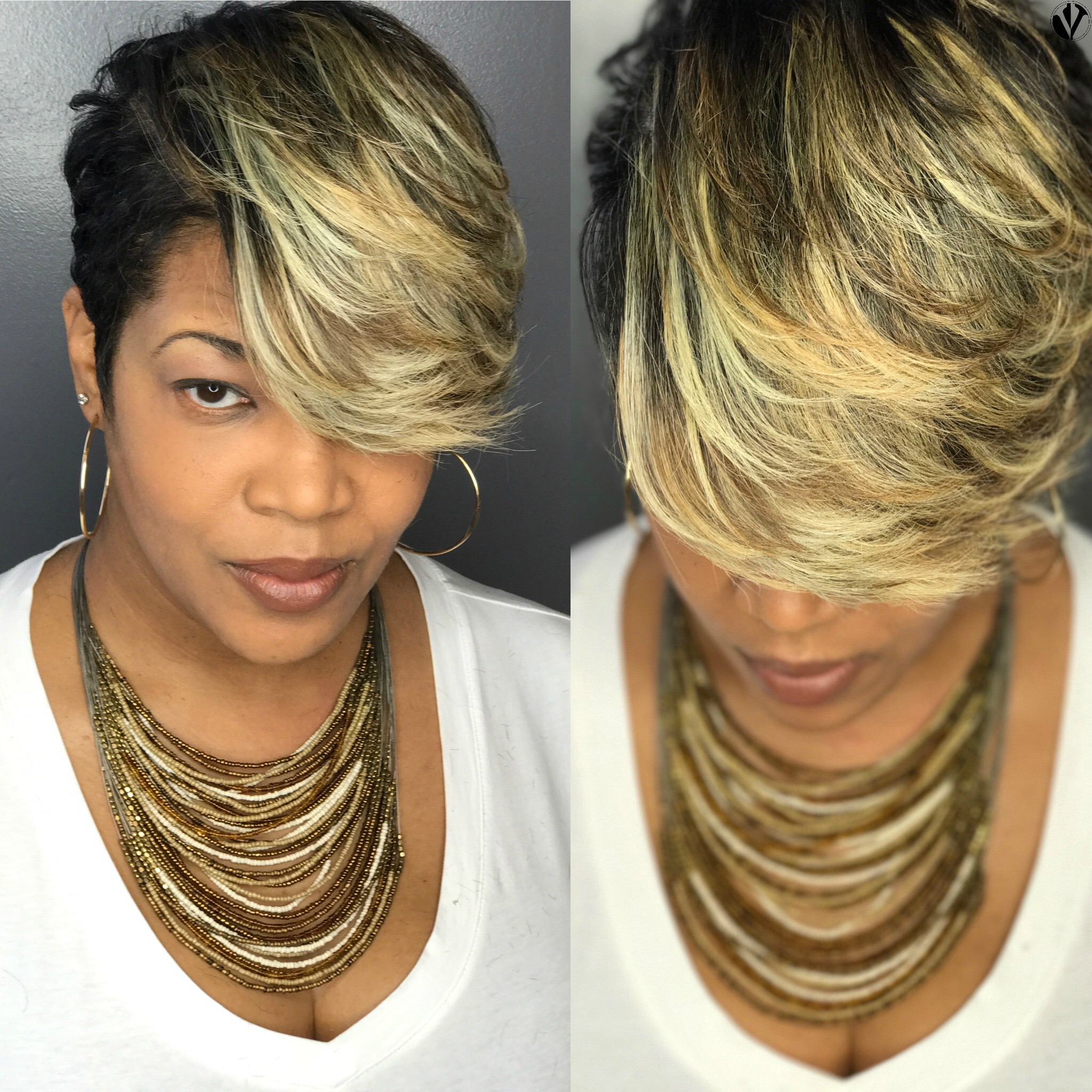 Toners help to achieve a dimensional blonde look