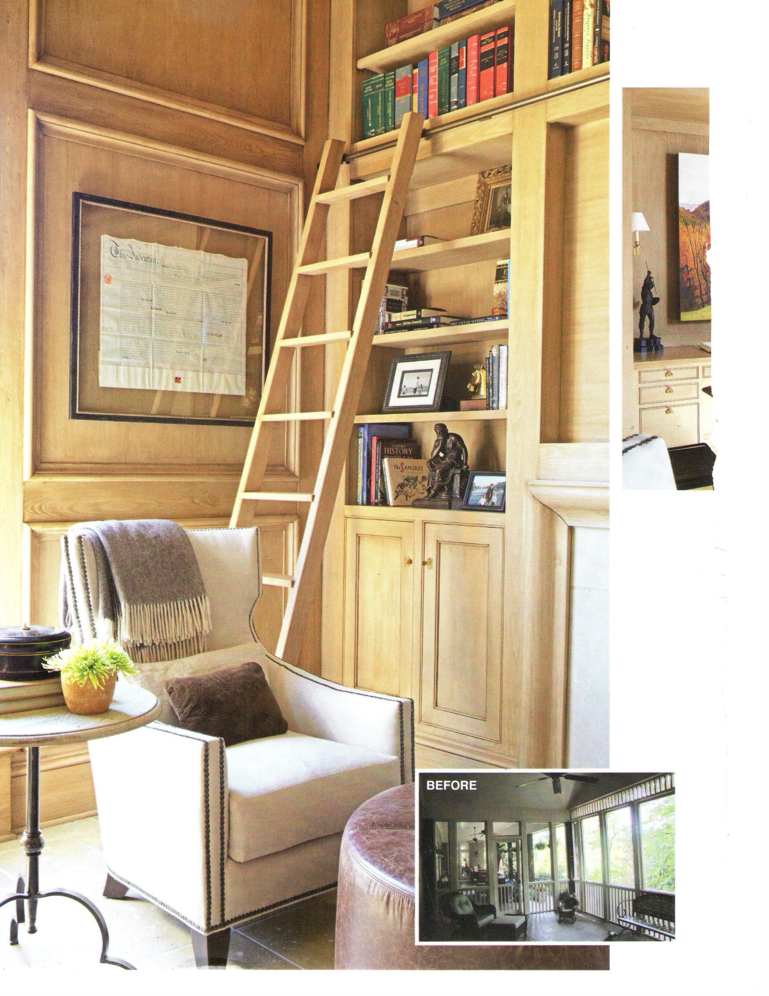 B'Ham Home & Garden Suite Upgrade magazine page 1 architecture exterior and interior design Alabama