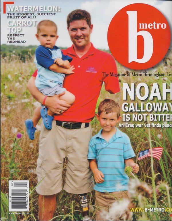 B-Metro Magazine 2010 Keeping it casual cover page architecture interior exterior design Alabama