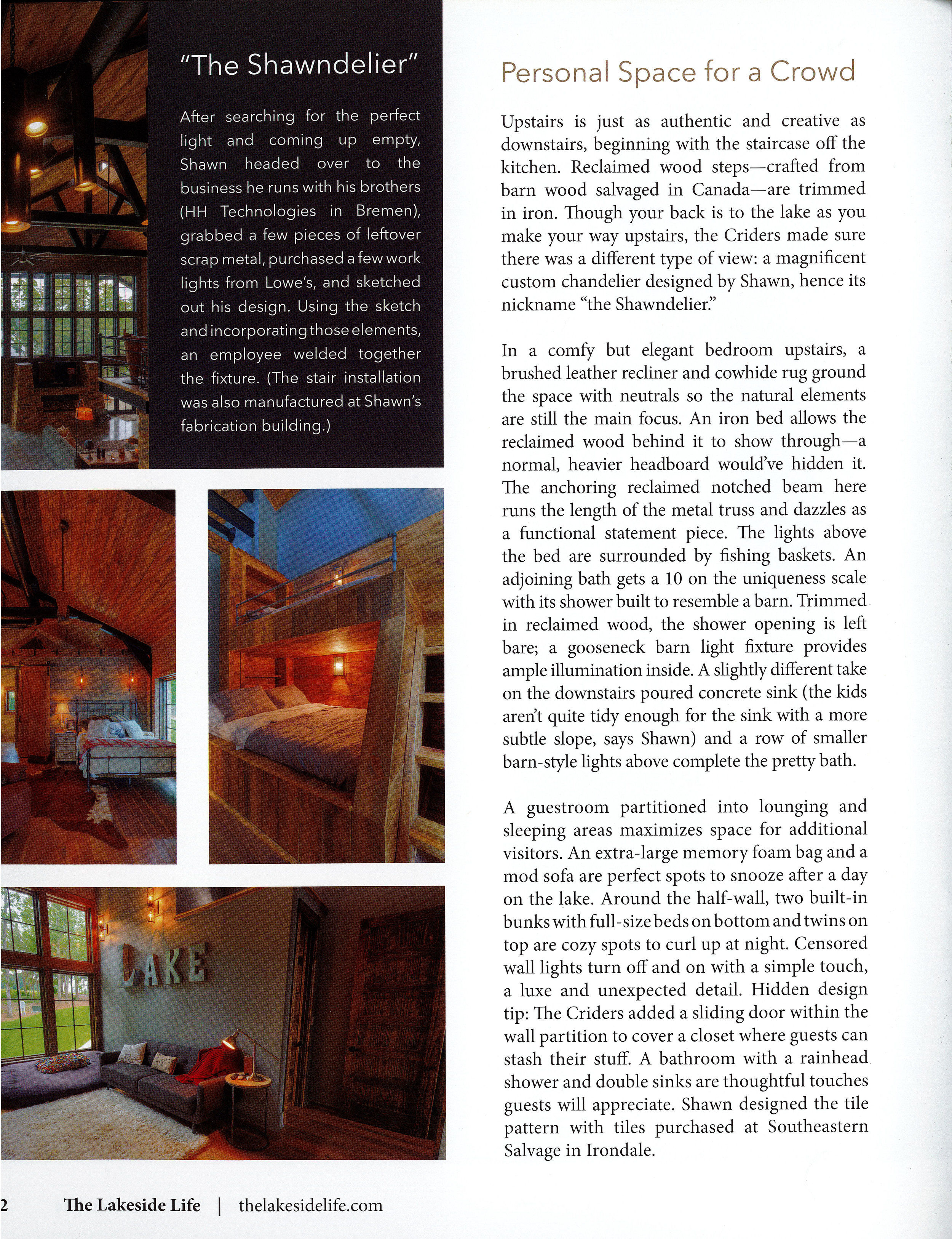 Page 4 of Crider Lake House #architecture #interiors