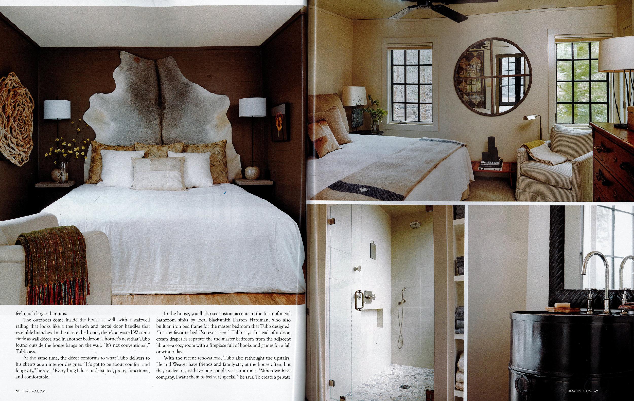 B-metro Magazine 2016 7 sticks lake house page 2 architecture exterior and interior design Alabama