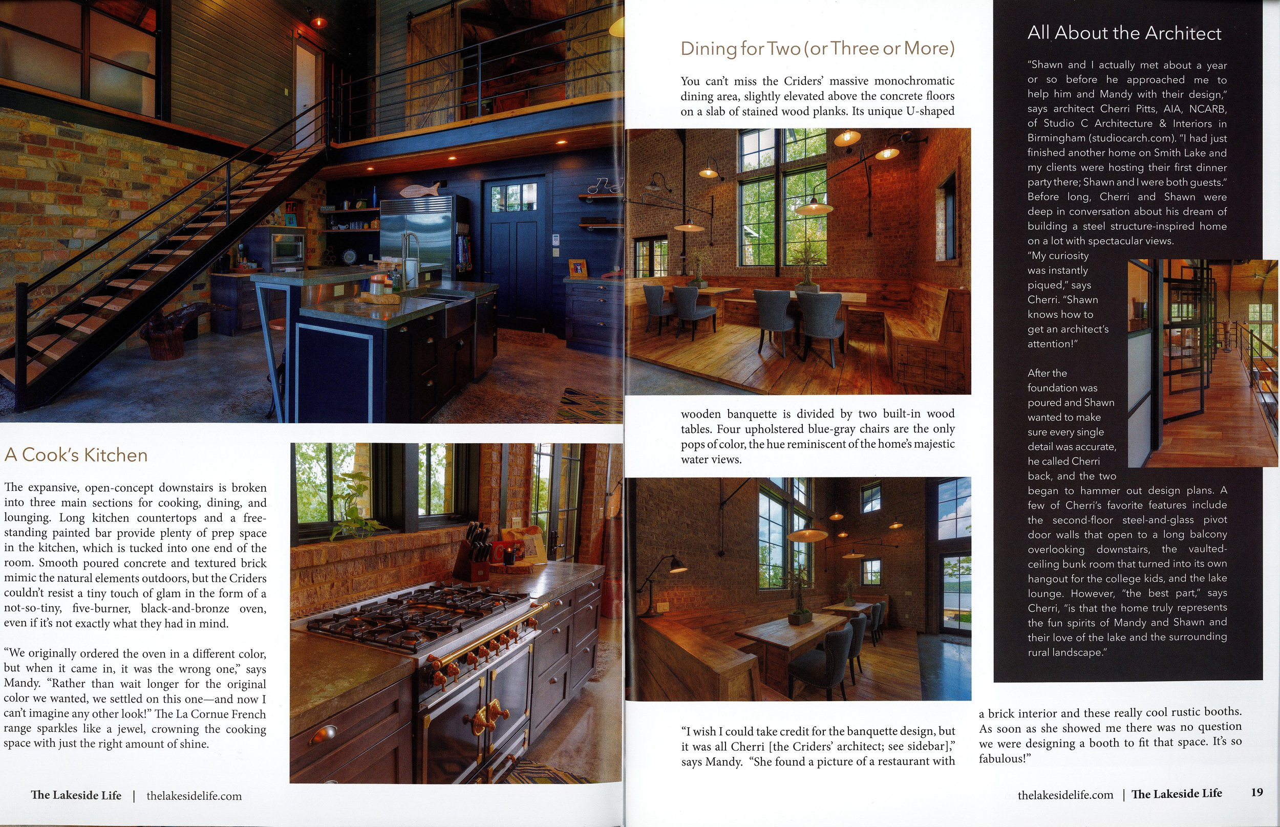 Page 2 of Crider Lake House #architecture #interiors