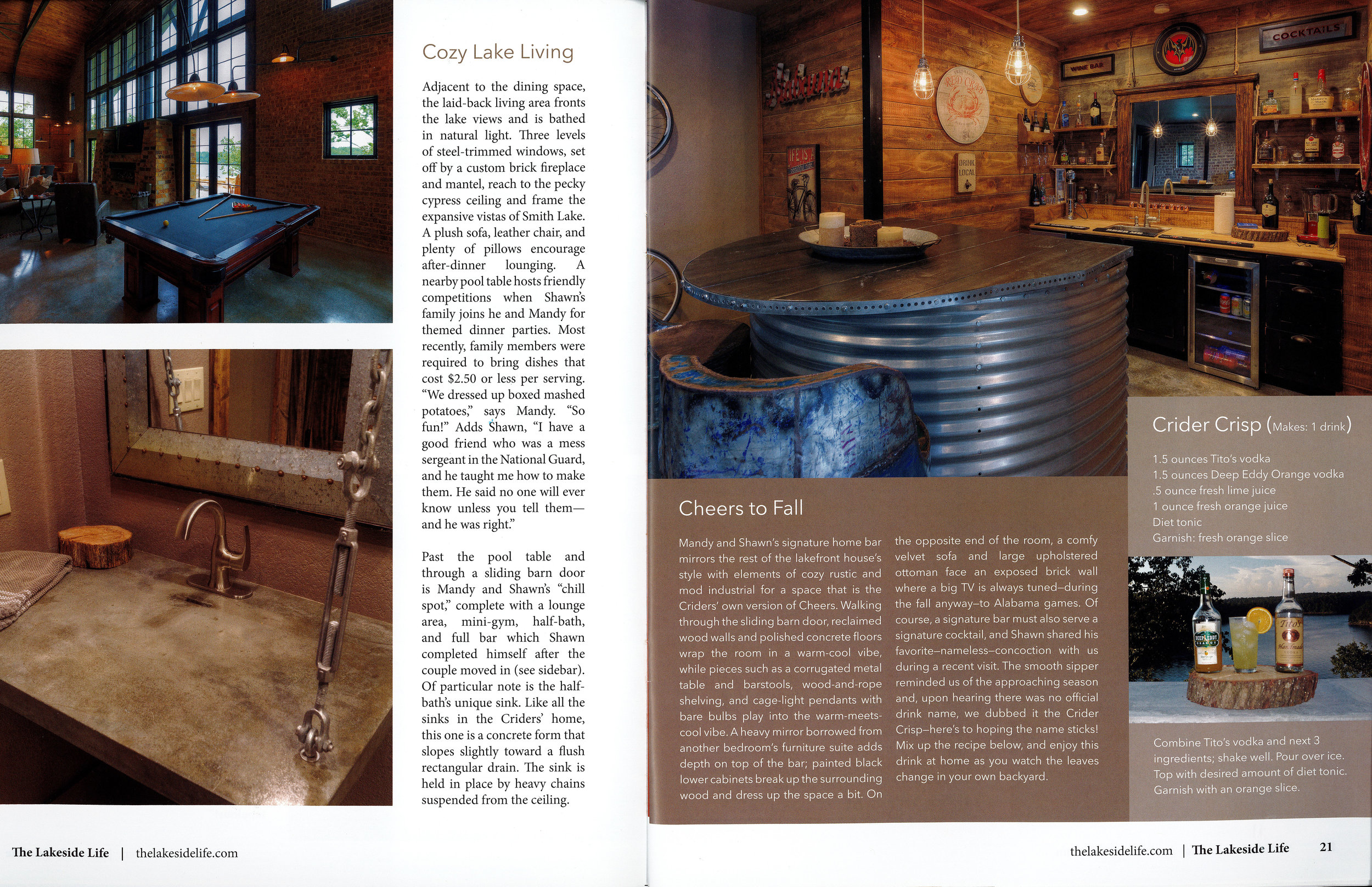 Page 3 of Crider Lake House #architecture #interiors