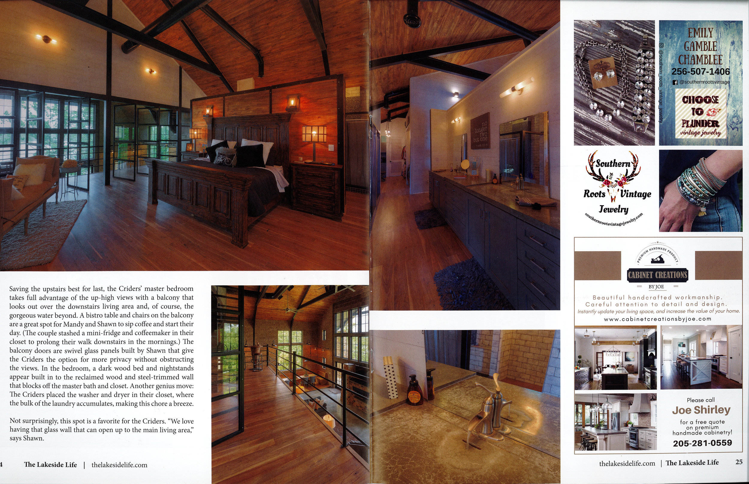 Page 5 of Crider Lake House #architecture #interiors