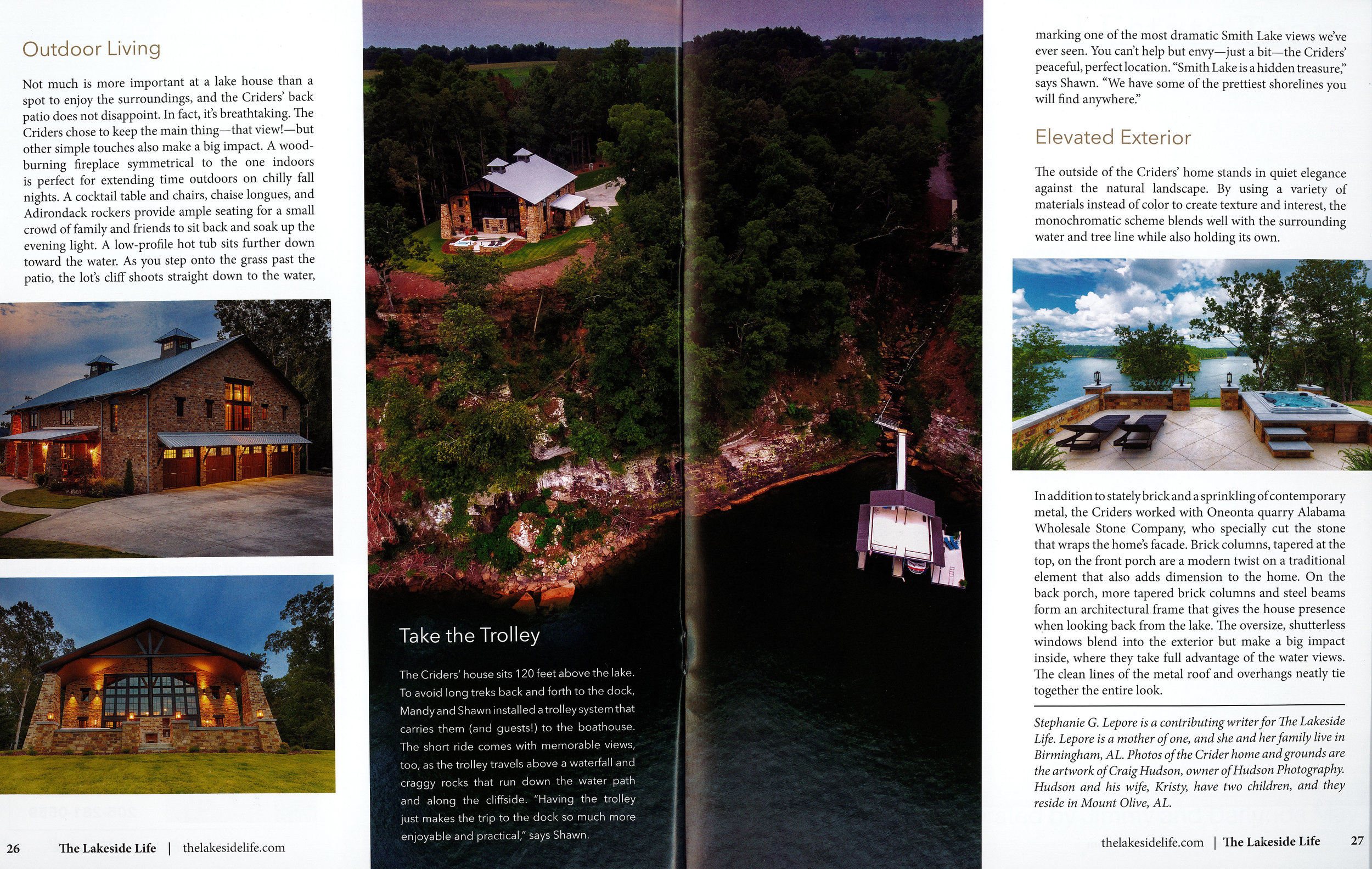 Page 6 of Crider Lake House #architecture #interiors