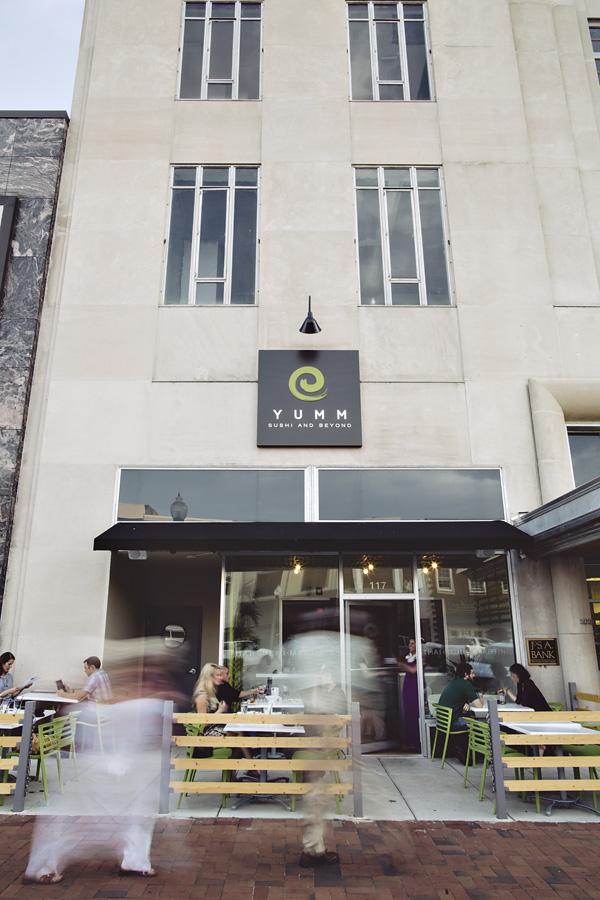Yumm Thai Sushi Restaurant exterior architecture Alabama