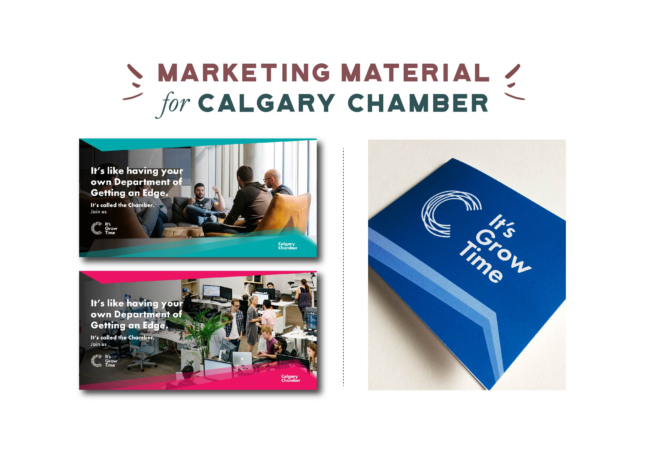 Calgary Chamber Marketing Collateral