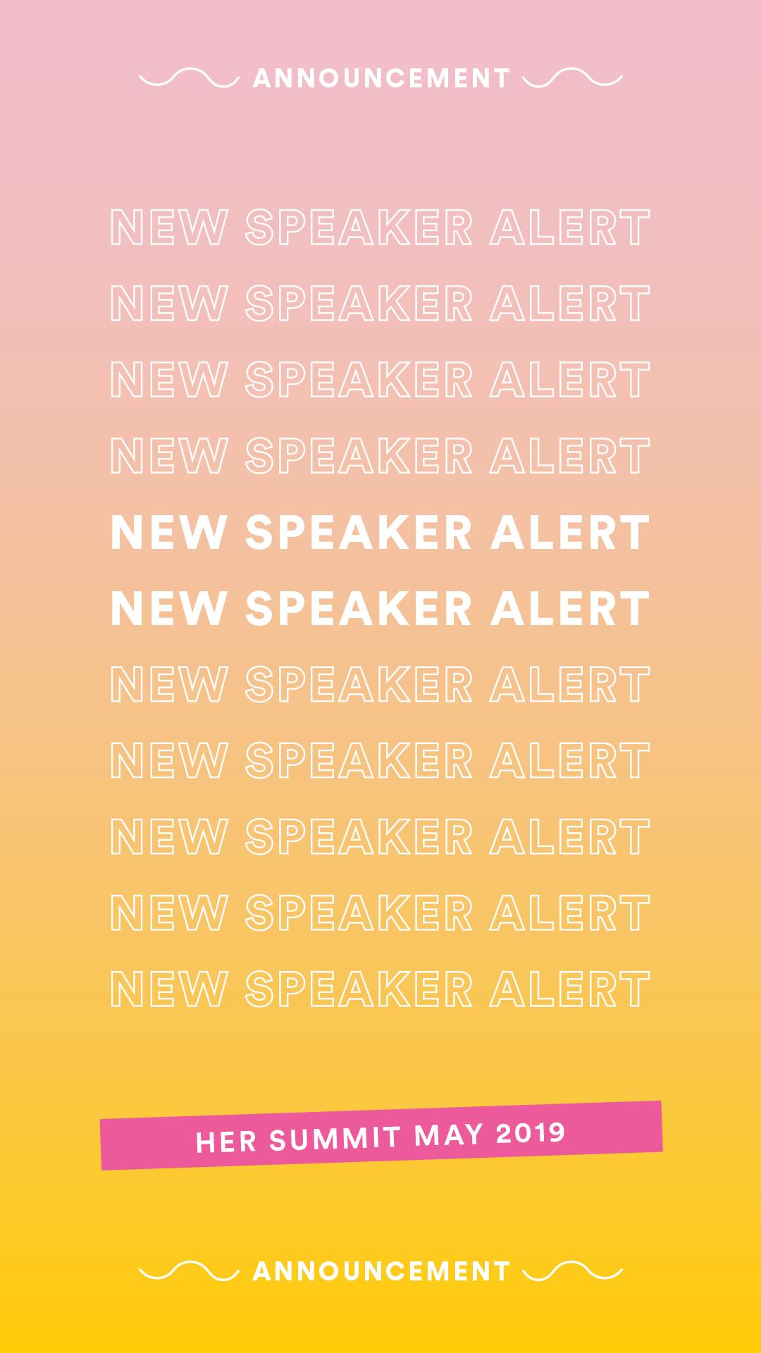 More Speakers Announced Soon!