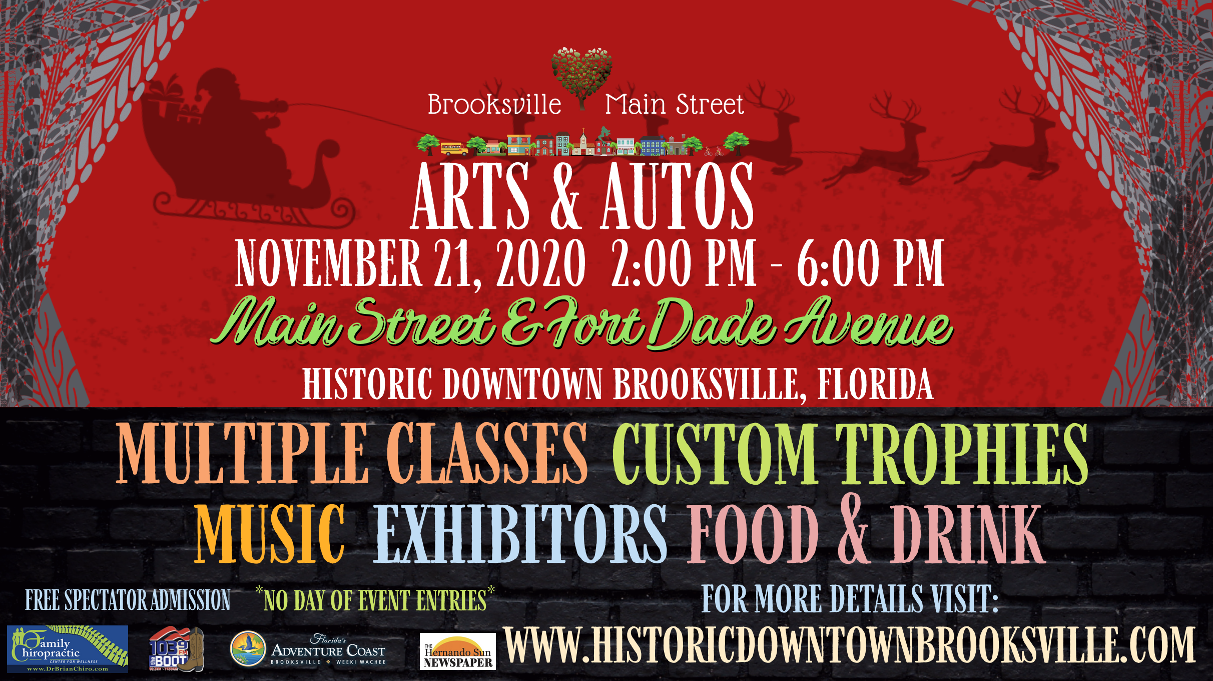 Brooksville Fl Christmas Parade 2020 Events — Historic Downtown Brooksville
