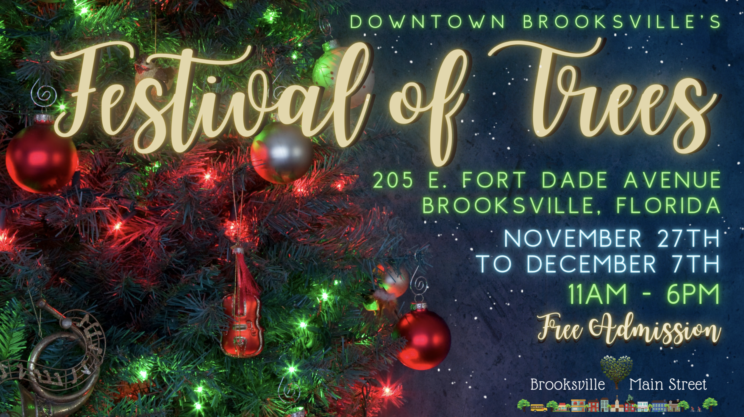 Brooksville Fl Christmas Parade 2021 Details Events Historic Downtown Brooksville