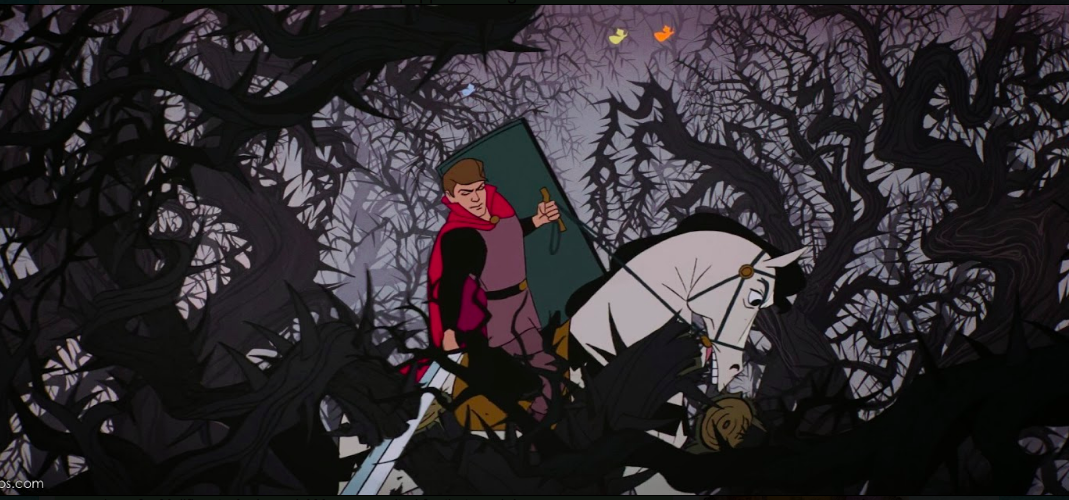 Disney's Prince Phillip fighting through Blackthorn. Pity he wasn't fighting the patriarchy.