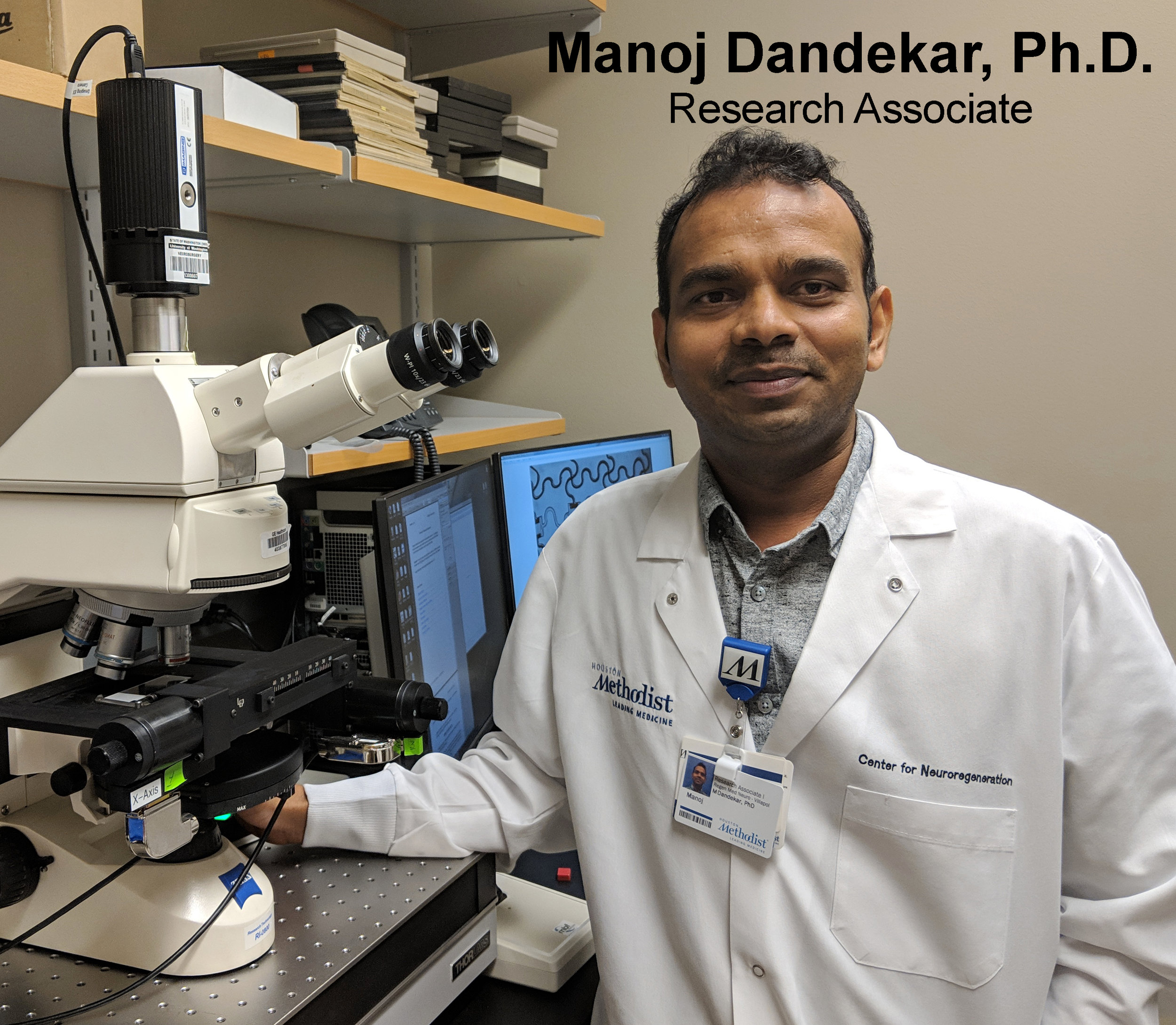 Manoj Dandekar, Ph.D. -