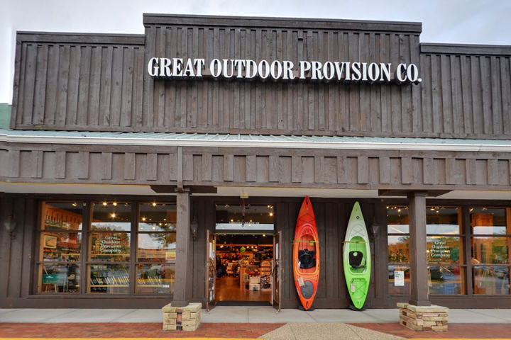 Great Outdoor Provision Co. Raleigh, NC  Great Outdoor Provision Co. was founded in 1972 and is a a specialty outdoor retailer based in North Carolina. As a locally owned shop we want to make you happy – because you're our neighbor. We are committed to personalized retail and encourage you to come in…
