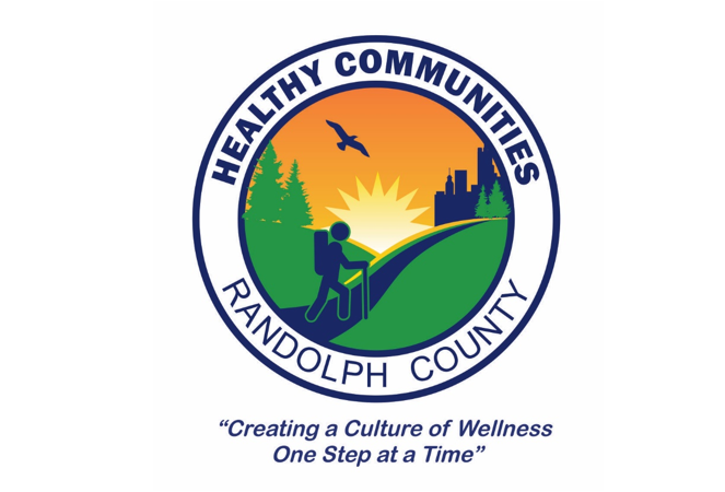Healthy Communities Asheboro, NC  Healthy Communities is a group of citizens and professionals in Randolph County who are committed to creating and promoting healthy living and wellness. The County's Corporate and Municipality Wellness Coalition and Trails Advisory Council are major programs.
