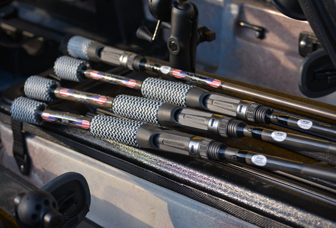 """Cashion Rods Sanford, NC  Cashion Fishing Rods takes a scientific approach to designing and building carbon fiber fishing rods. At Cashion Fishing Rods we have a very simple philosophy, """"we build the best North Carolina made fishing rods, designed to provide performance for everyone""""."""