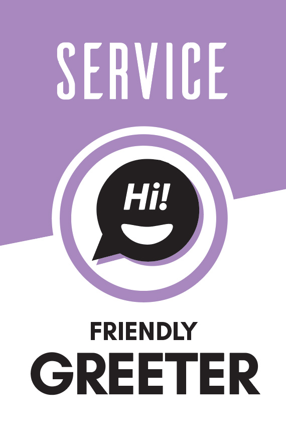 Help attendees feel welcome at our services.