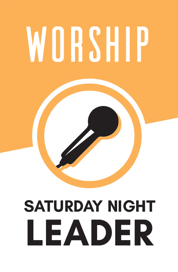 Lead Saturday night service with an instrument & vocals