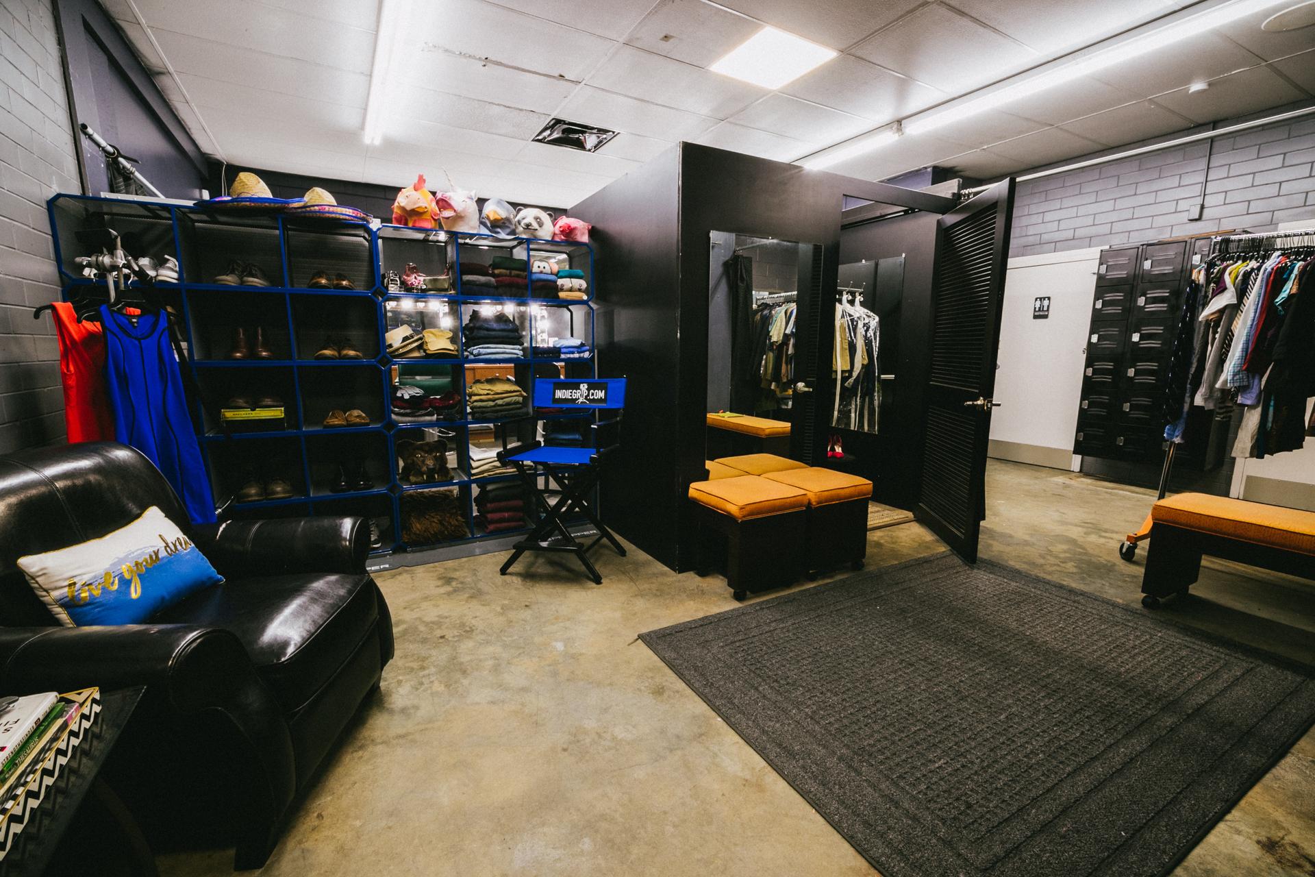 Wardrobe room -