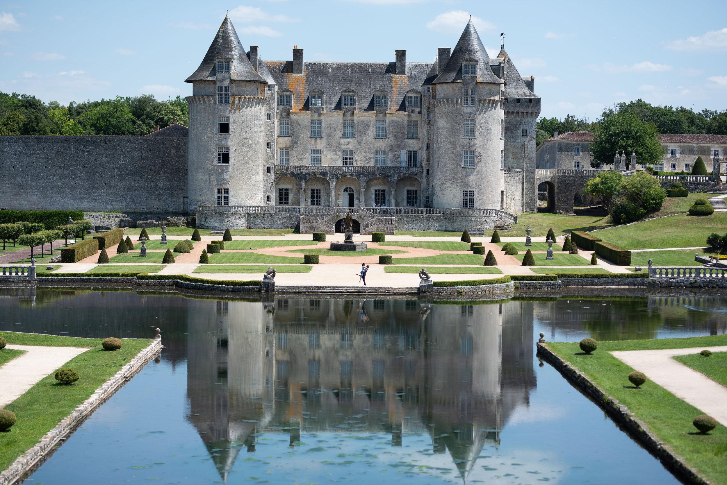 Chateau de La Roche Courbon - Saint Porchaire