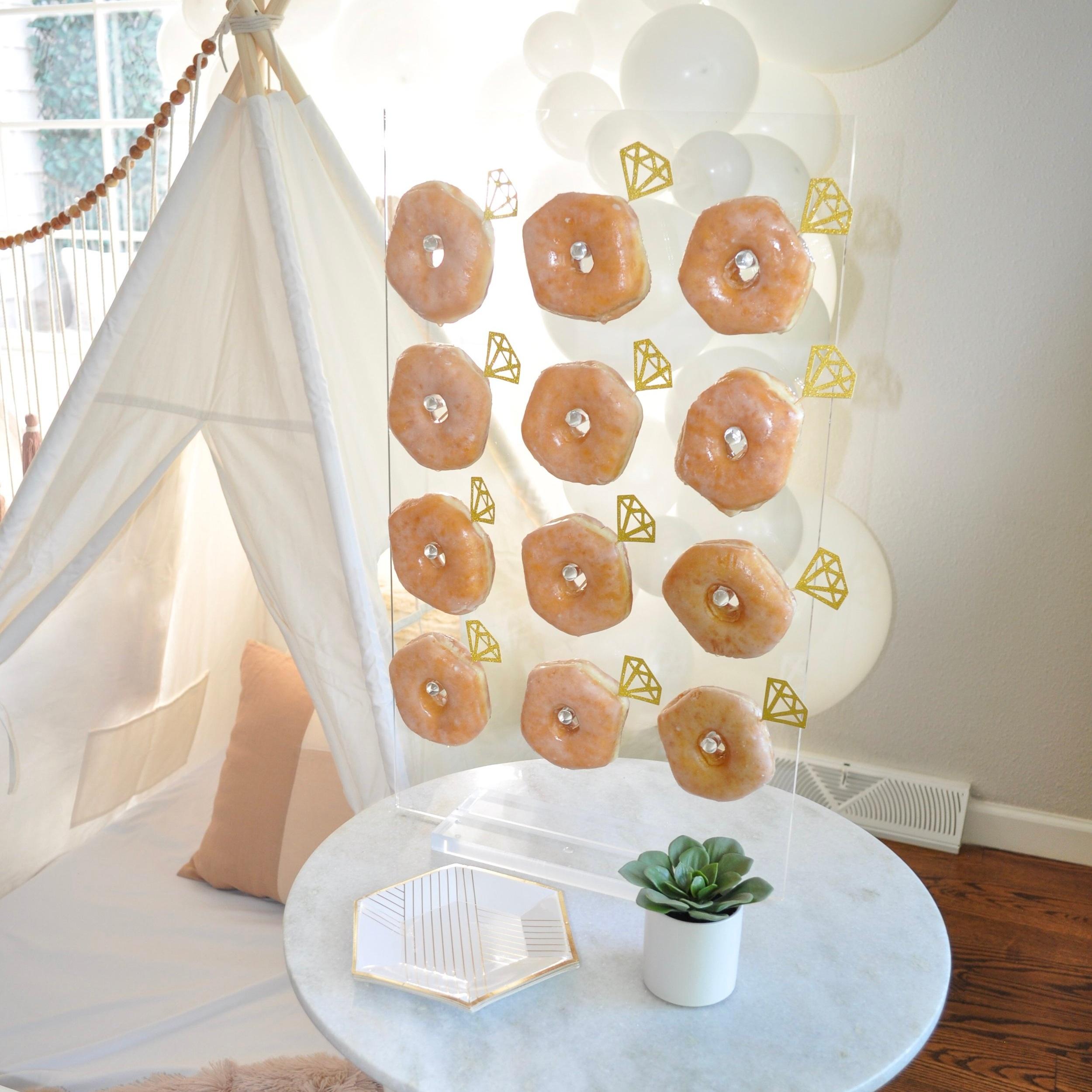 diamond donut wall | $24