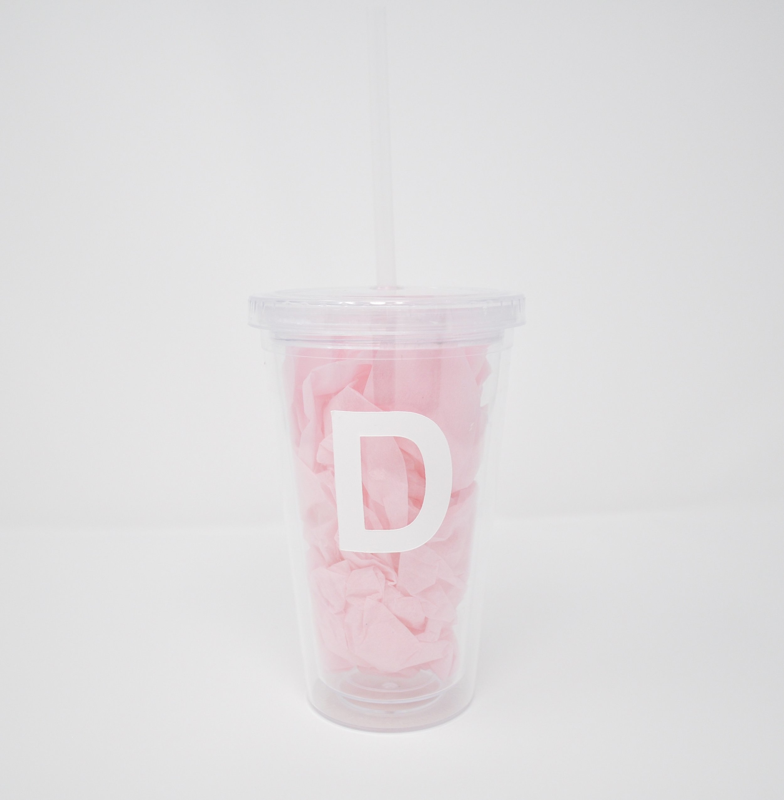 personalized water cup favor | $6