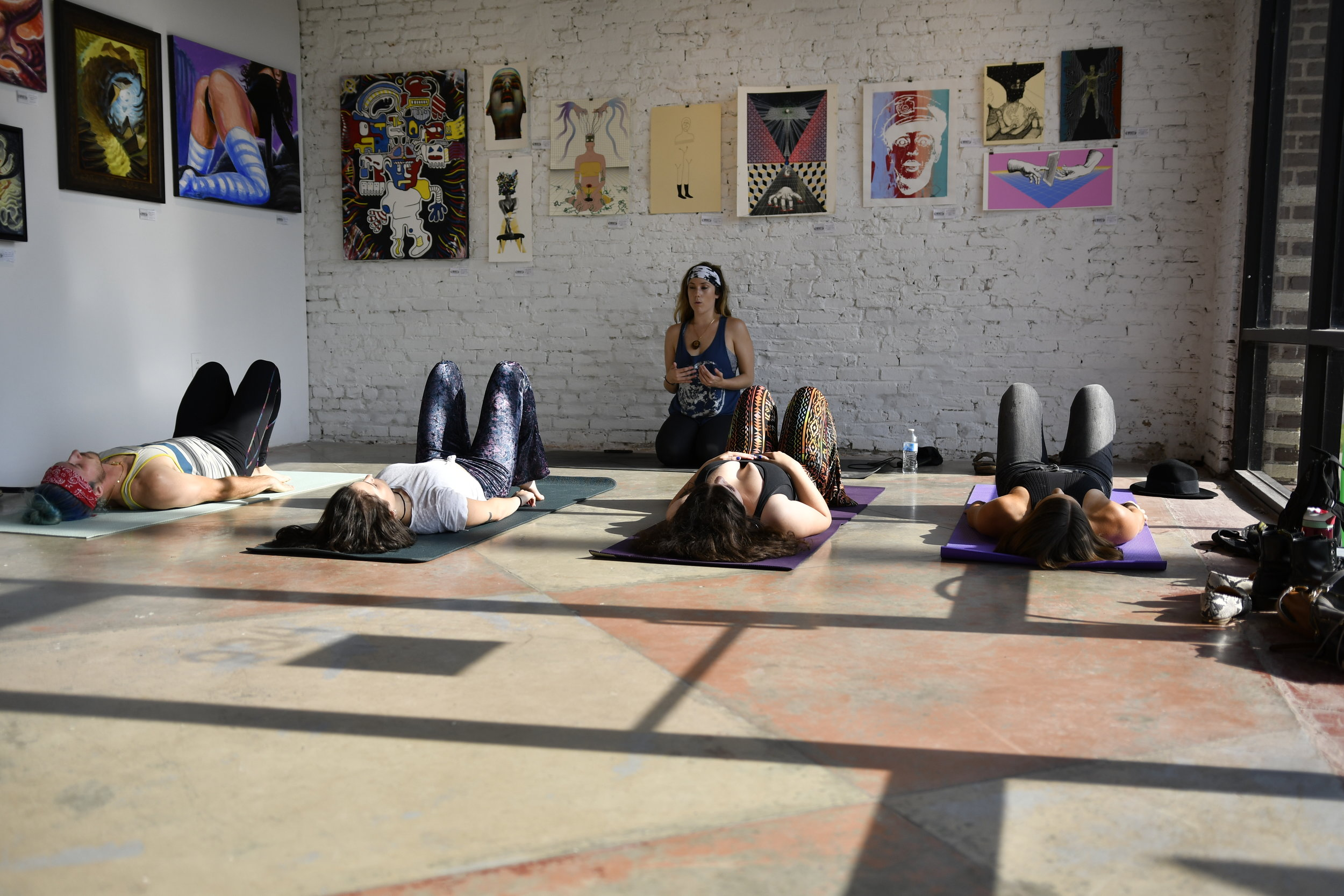 Yoga at 934