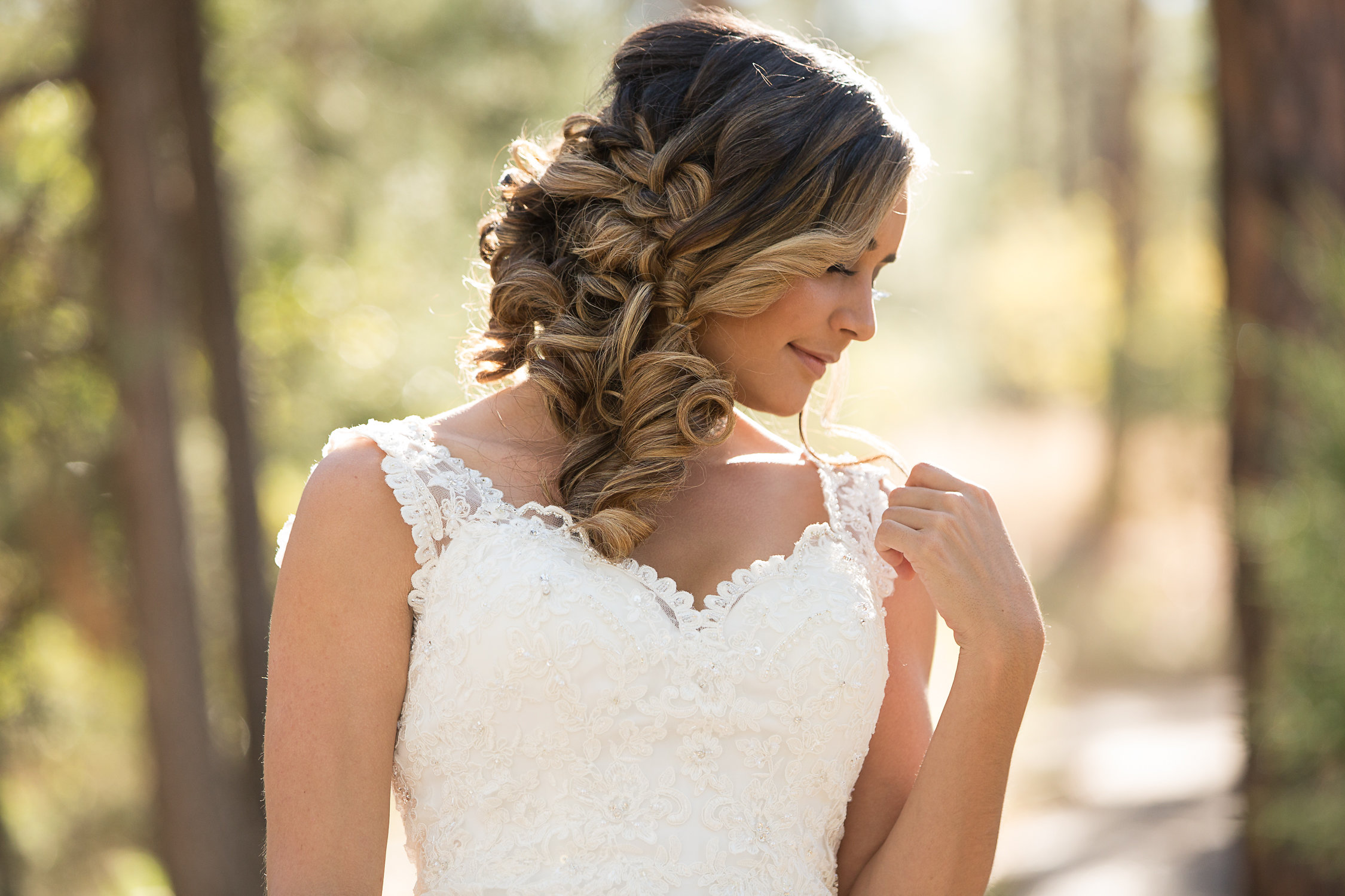 Hair by Fortune Brandel, Makeup by  Jenna Thompson