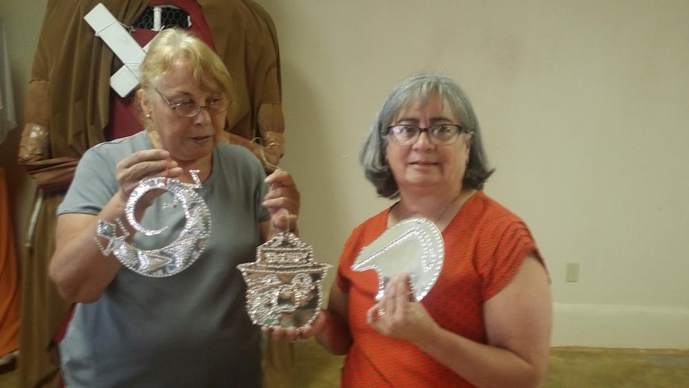 2019 Tin Ornament Workshop with Carmen Campos