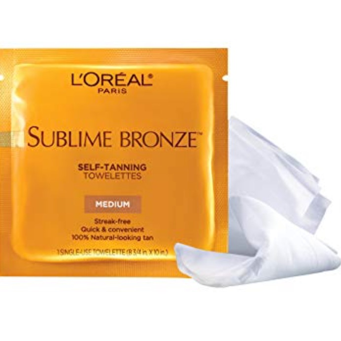 L'Oreal Sublime Bronze Towelettes - No Drama