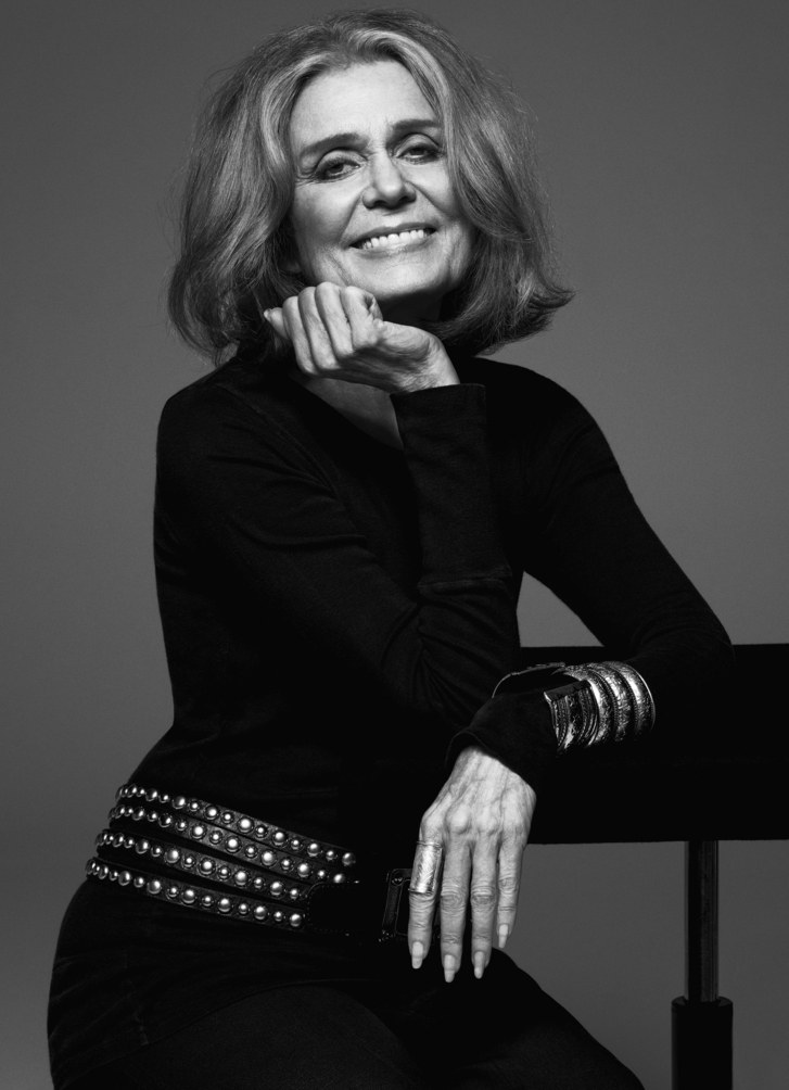 Gloria Steinem. The absolute ultimate best.