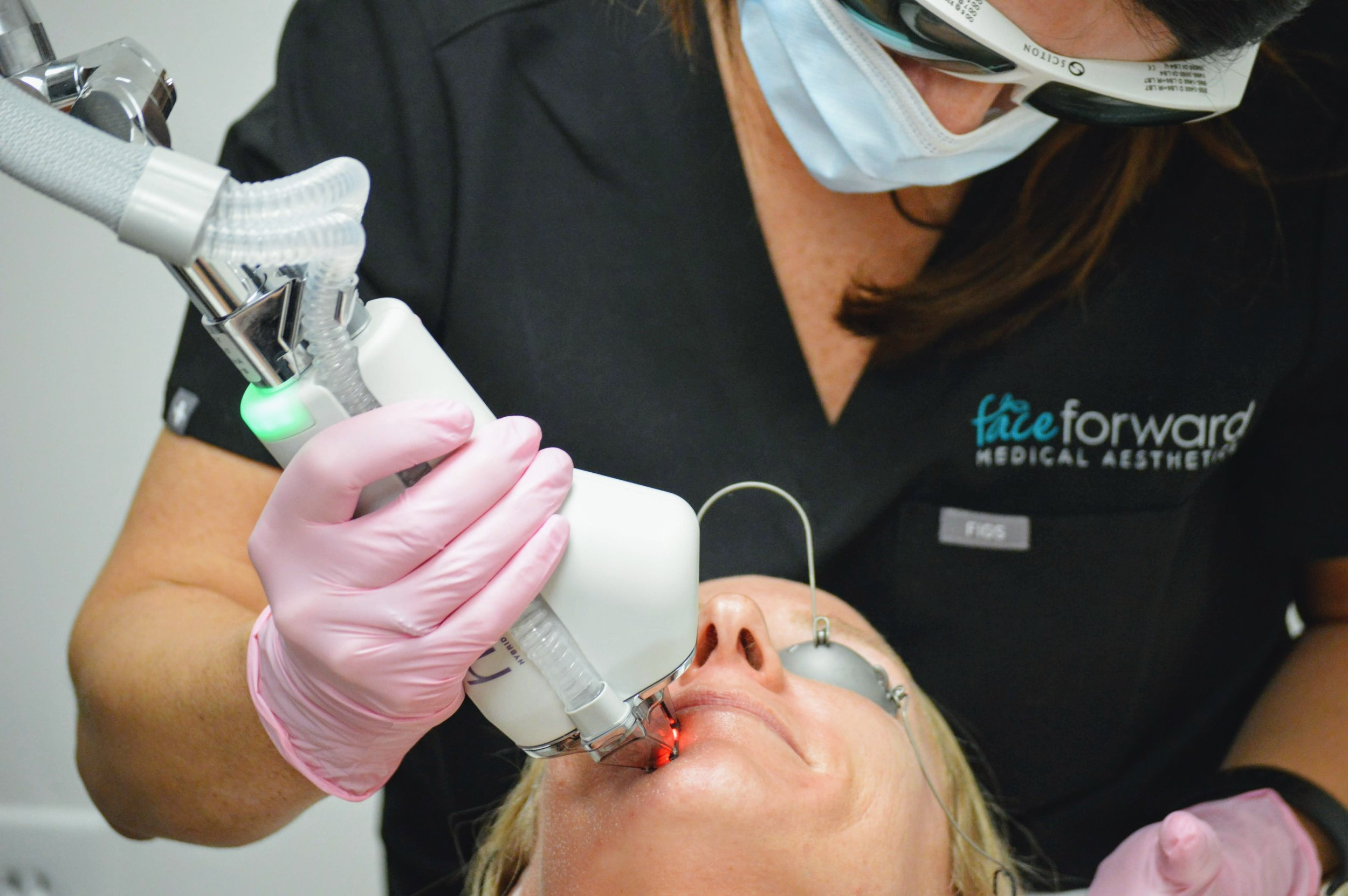 Halo Laser skin rejuvenation in Lexington, MA