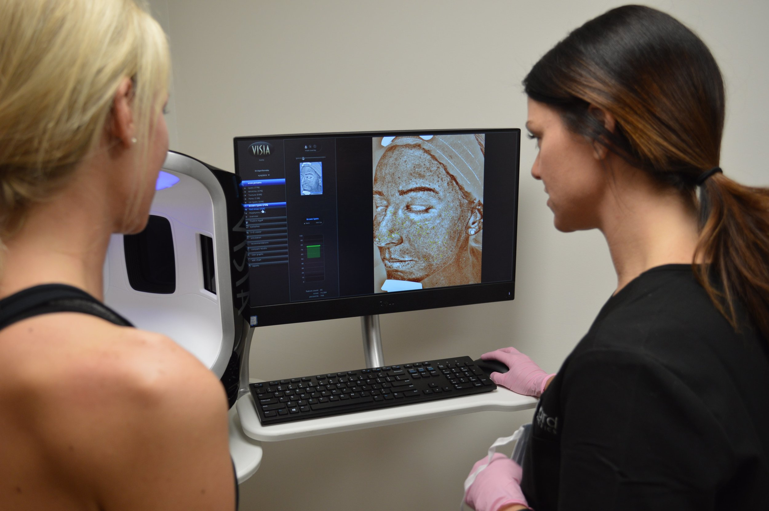 During our free computerized skin analysis and consultation in Lexington, MA we will create a customized plan for you
