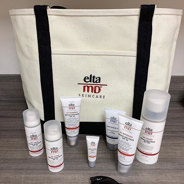 For a limited time get a free beach tote with any eltaMD purchase (while supplies last).