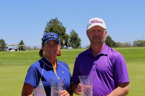 Champions Kareen Markle and Scott Vermeer