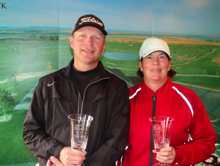 Scott Vermeer & Karen Markle Alternate Shot Champions