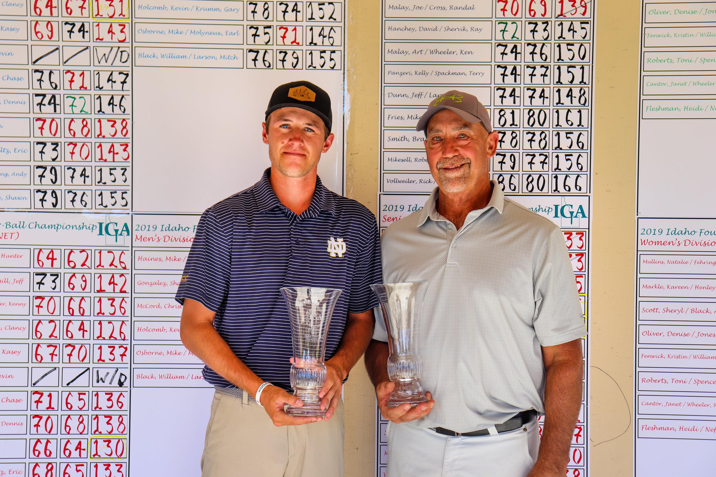Hunter Ostrom and Doug Schlosser