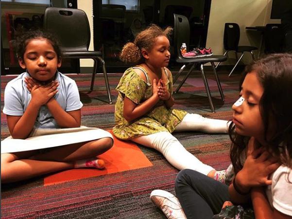 Worthy Beyond Purpose Mar Vista 3 Girls Meditating
