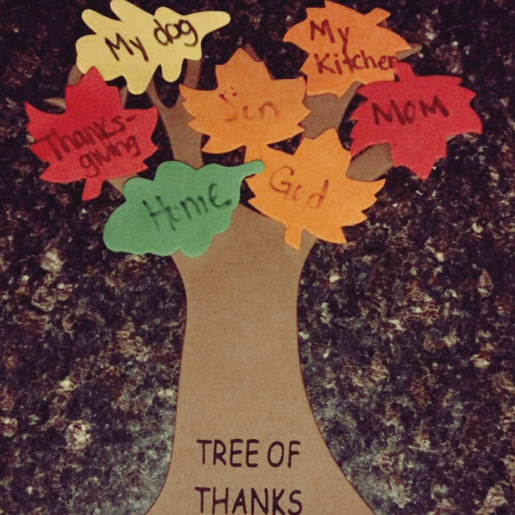 Worthy Beyond Purpose Gratitude Tree