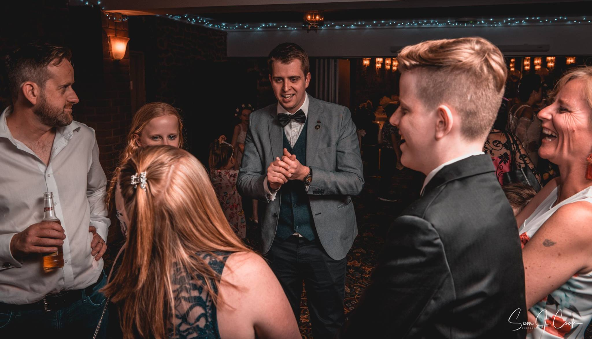 Lincolnshire wedding magician