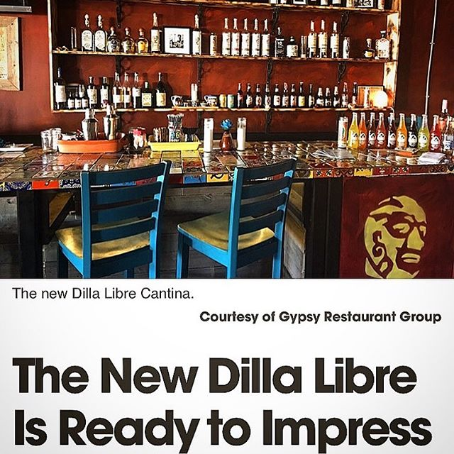 Phoenix New Times Article about Dilla Libre Cantina