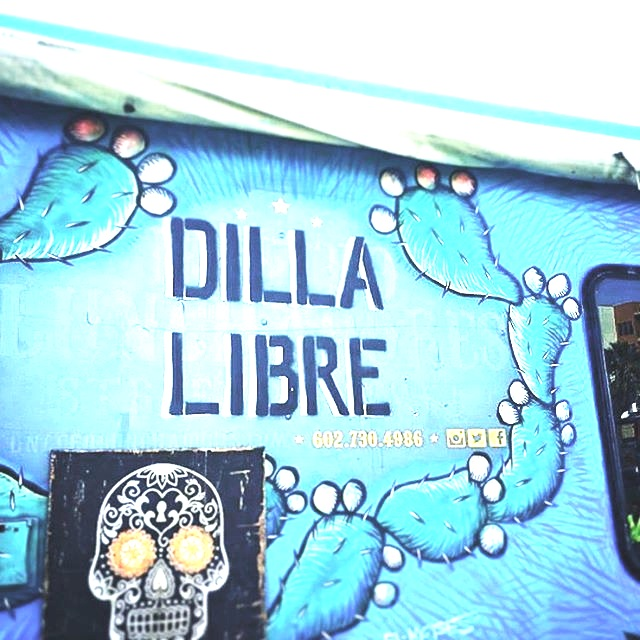 Our truck was painted by El Moises, one off the best artists that has called Phoenix home.