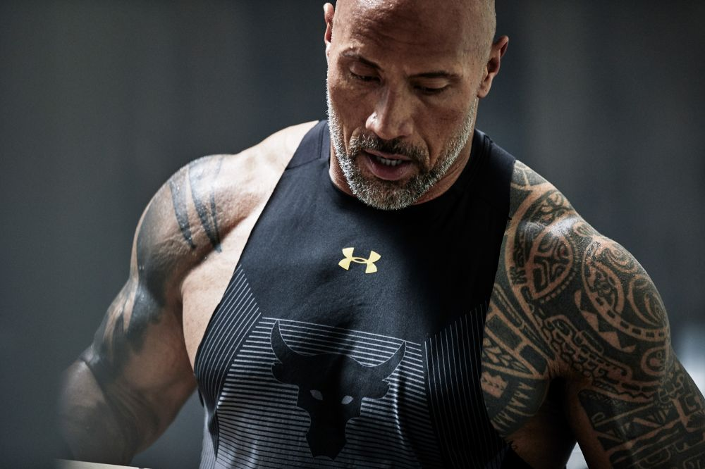 The Rock for Under Armour X Ture Lillegraven