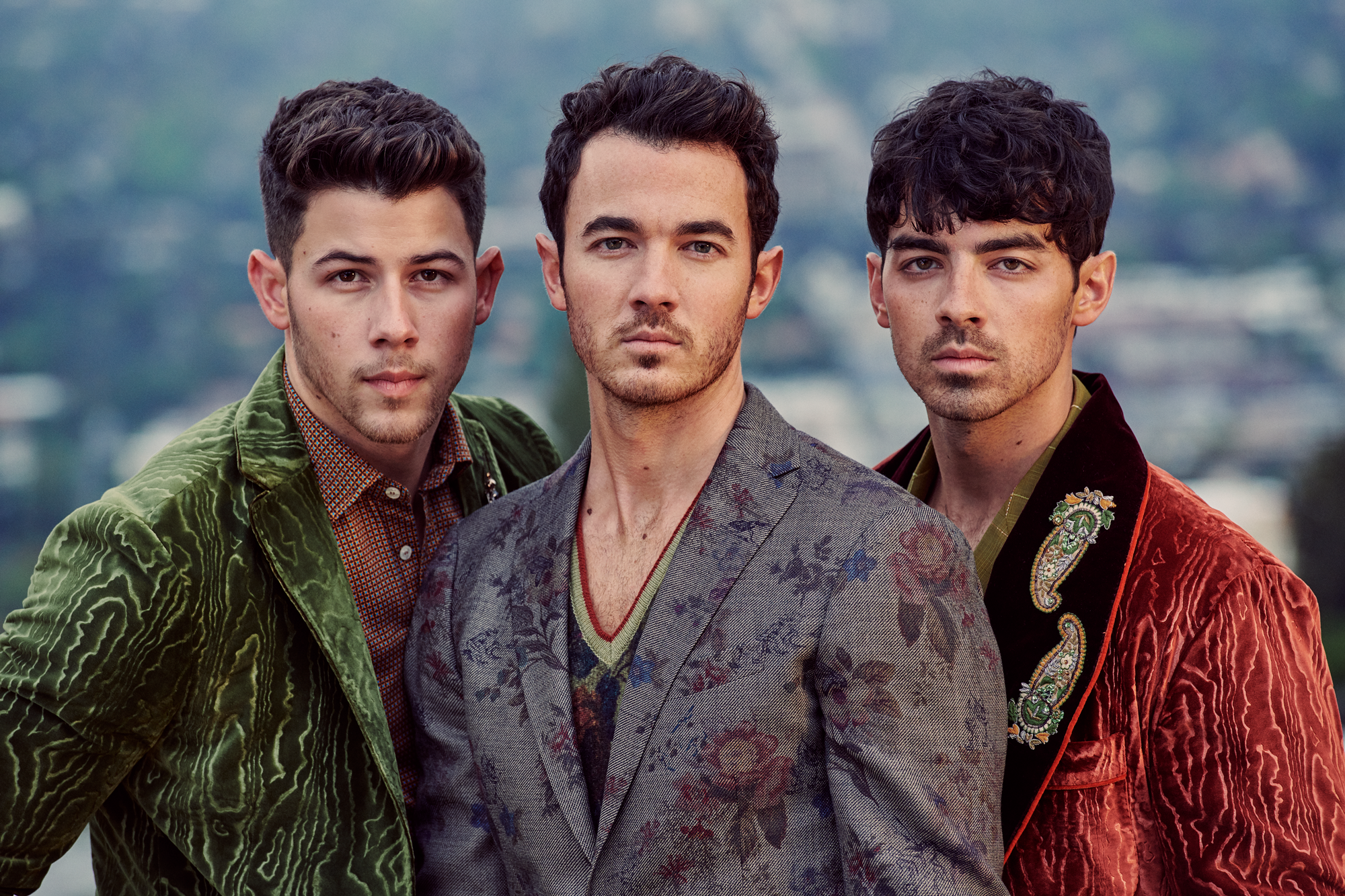 The Jonas Brothers for Harper's Bazaar X Eric Ray Davidson