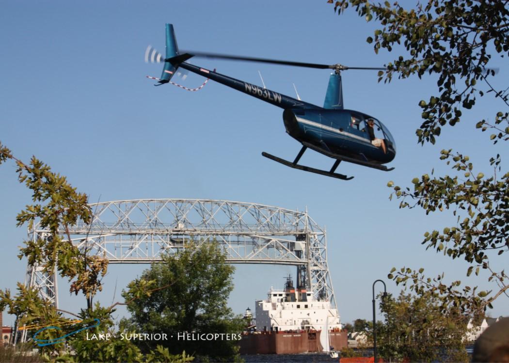 Helicopter by Liftbridge