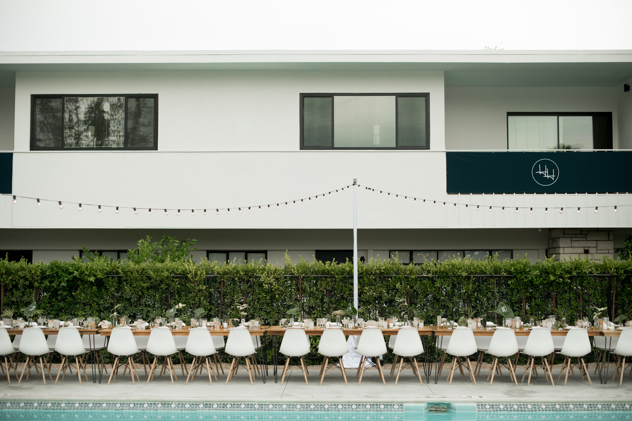 Los Angeles wedding, outdoor wedding, custom wedding decorations, wedding lighting     Orange Blossom Special Events