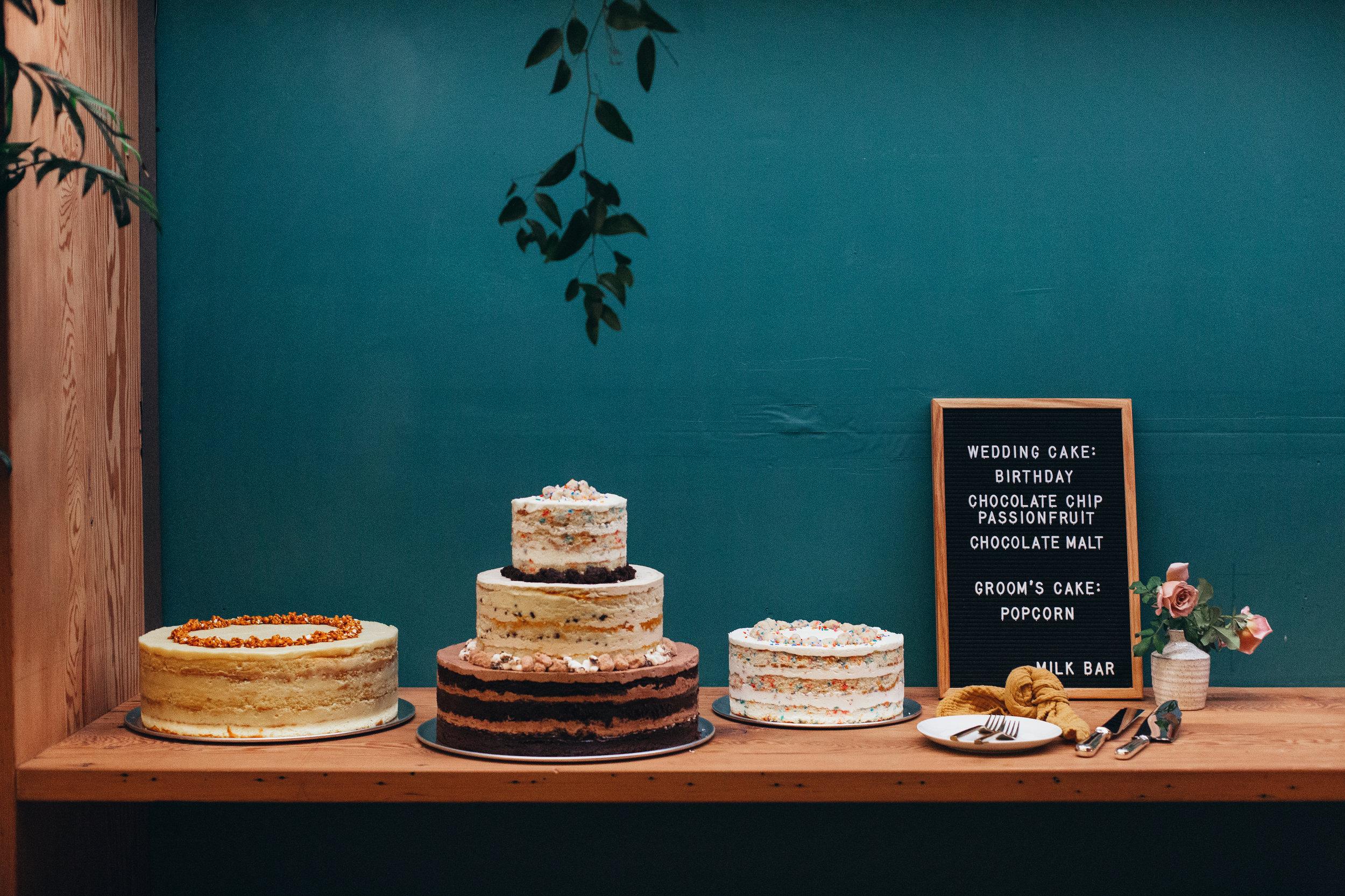 custom wedding cake, wedding cake, wedding desserts, dessert bar     Orange Blossom Special Events