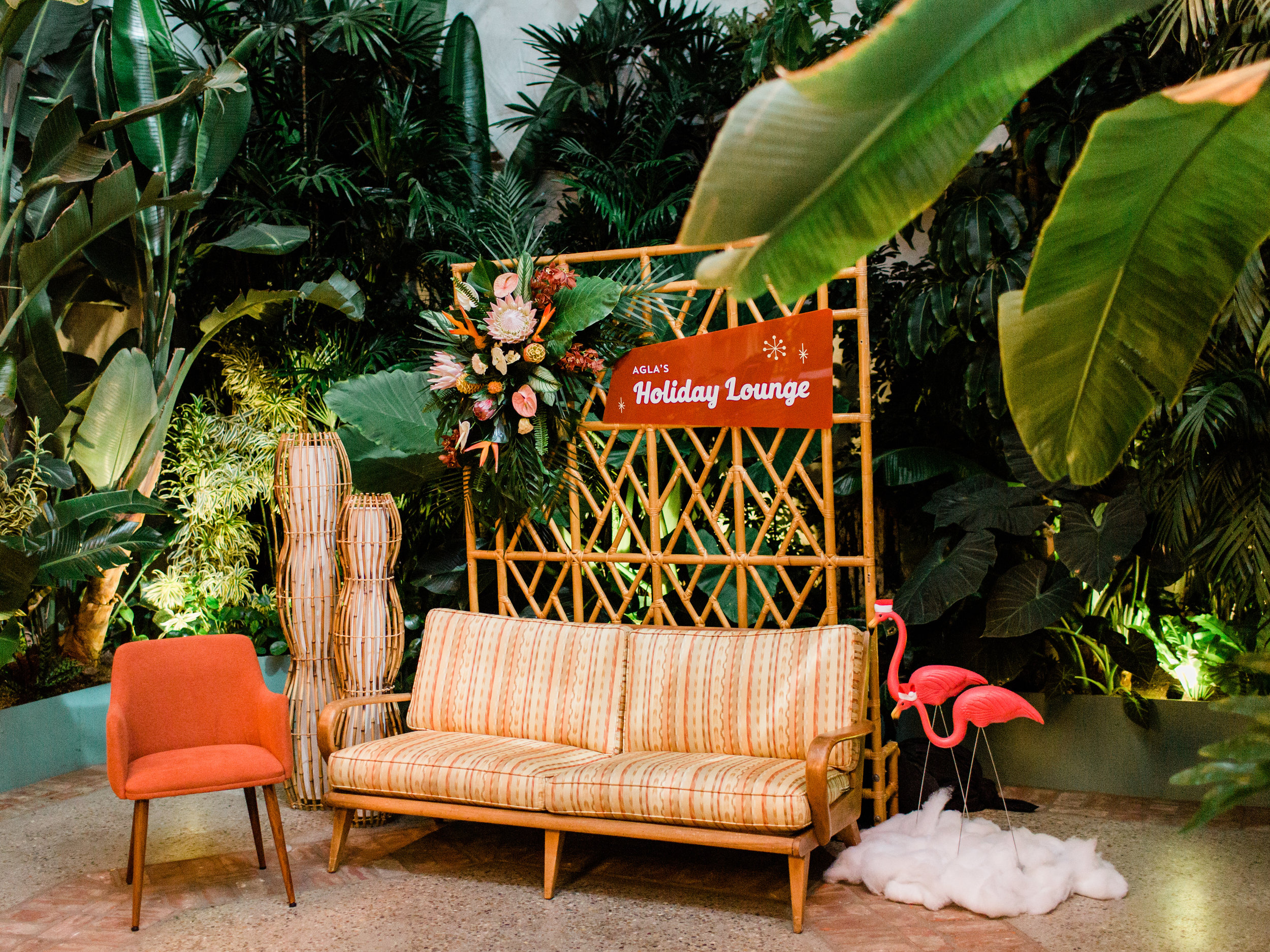 custom wedding decorations, tropical wedding decorations, outdoor wedding decorations, wedding decor, Los Angeles wedding  || Orange Blossom Special Events