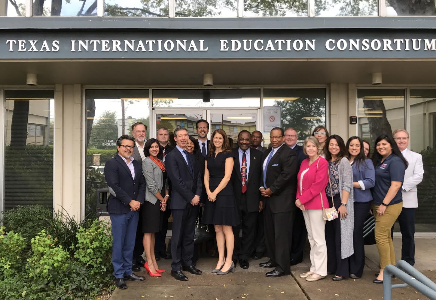 Group photo of the TIEC Operating Council