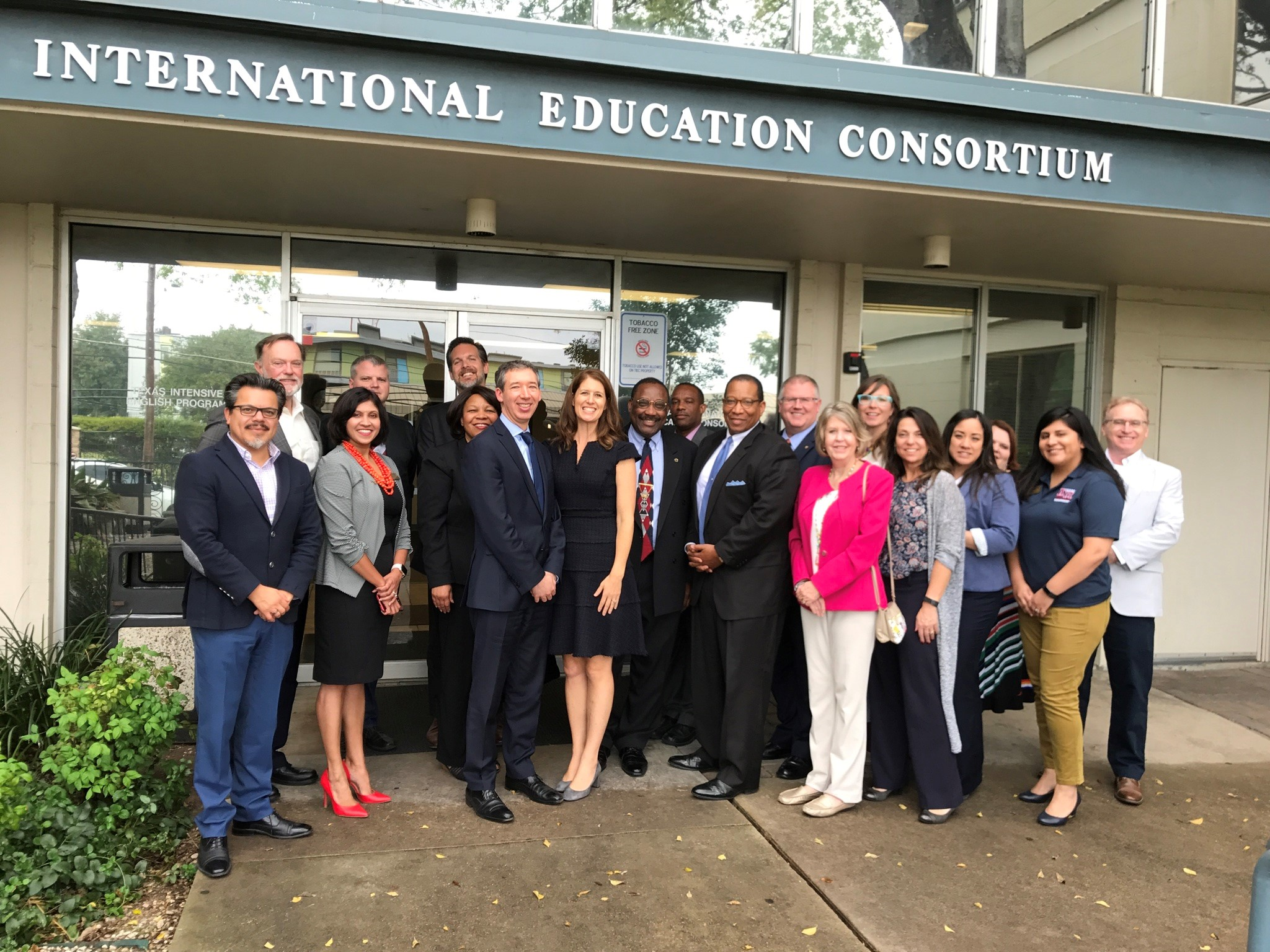 Group photo of Texas International Education Consortium Operating Council